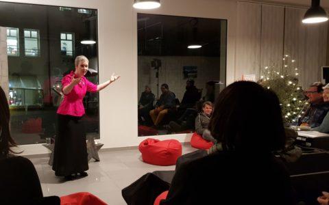 Höngger Adventszauber mit Geschichtenerzählerin Sibylle Baumann