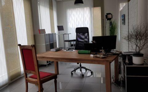 Filmstudio, Seminarraum und Büro in einem