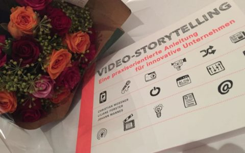 Buchvernissage Video-Storytelling